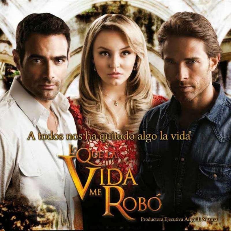 Compra la Telenovela: Lo que la vida me Robo completo en DVD.