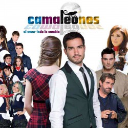 Comprar la Telenovela: Camaleones completo en DVD.