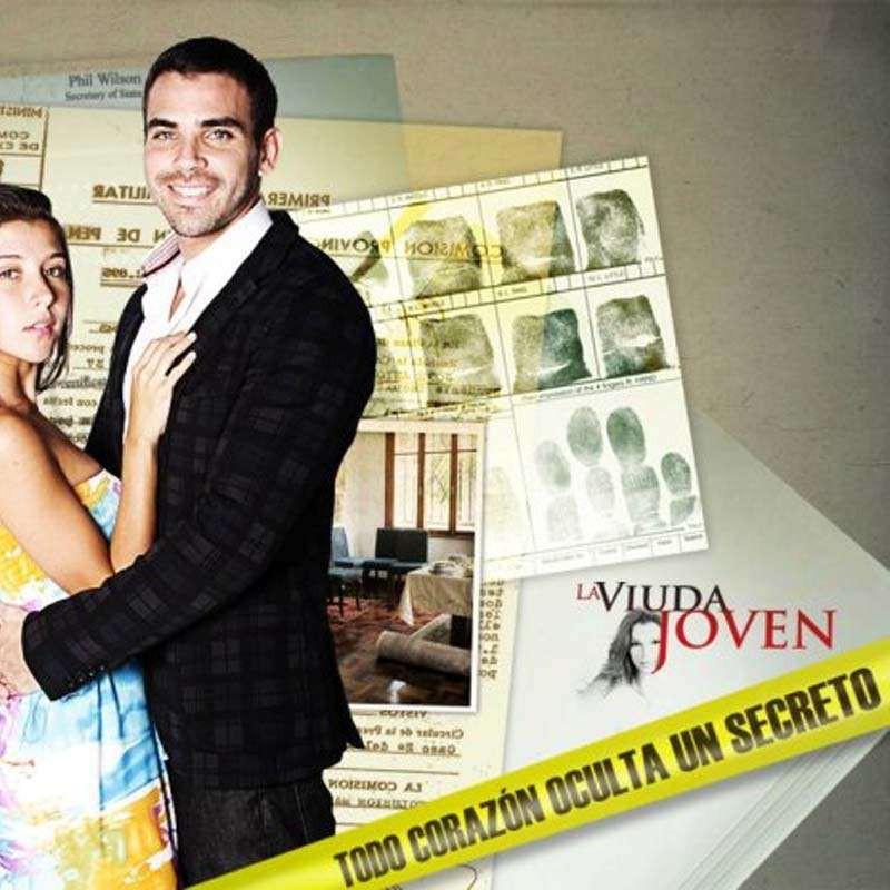 Comprar la Telenovela: La viuda joven completo en DVD.