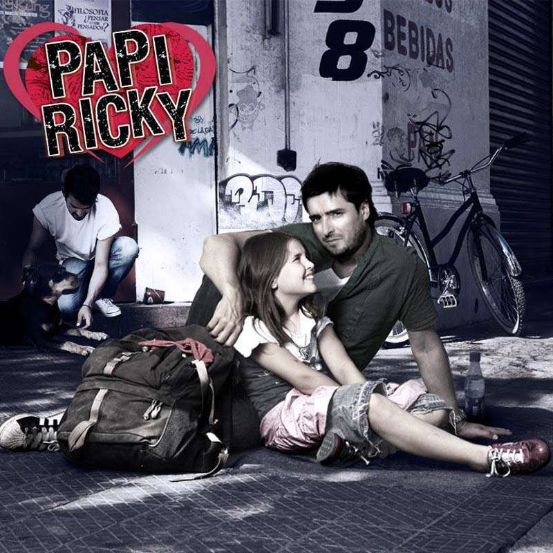 Comprar la Telenovela: Papi Ricky completo en DVD.