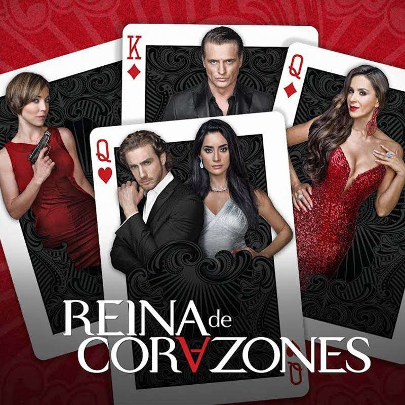 Compra la Telenovela: Reina de Corazones completo en DVD.