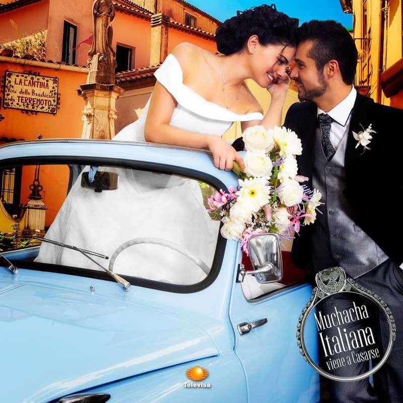 Compra la Telenovela: Muchacha italiana viene a casarse completo en DVD.