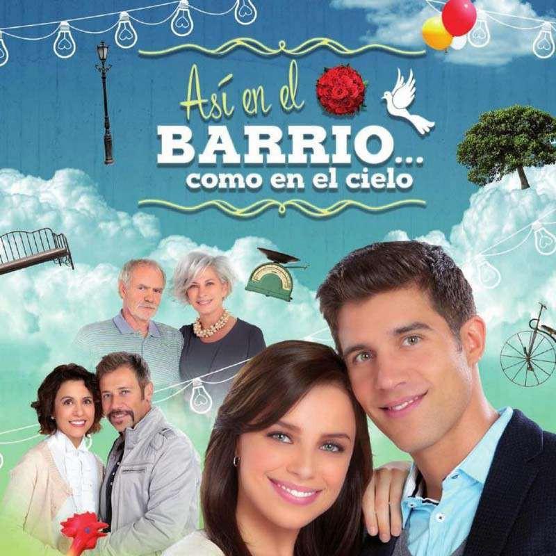 Compra la Telenovela: Así en el barrio como en el cielo completo en DVD.