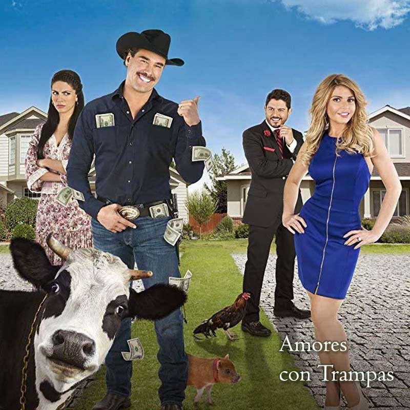 Compra la Telenovela: Amores con trampa completo en DVD.