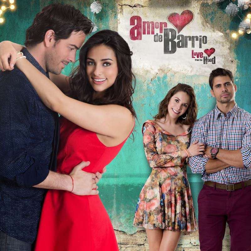 Compra la Telenovela: Amor de barrio completo en DVD.
