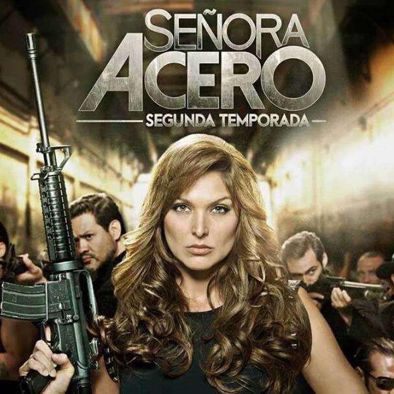 Compra la Serie: Senora Acero 2 completo en DVD.