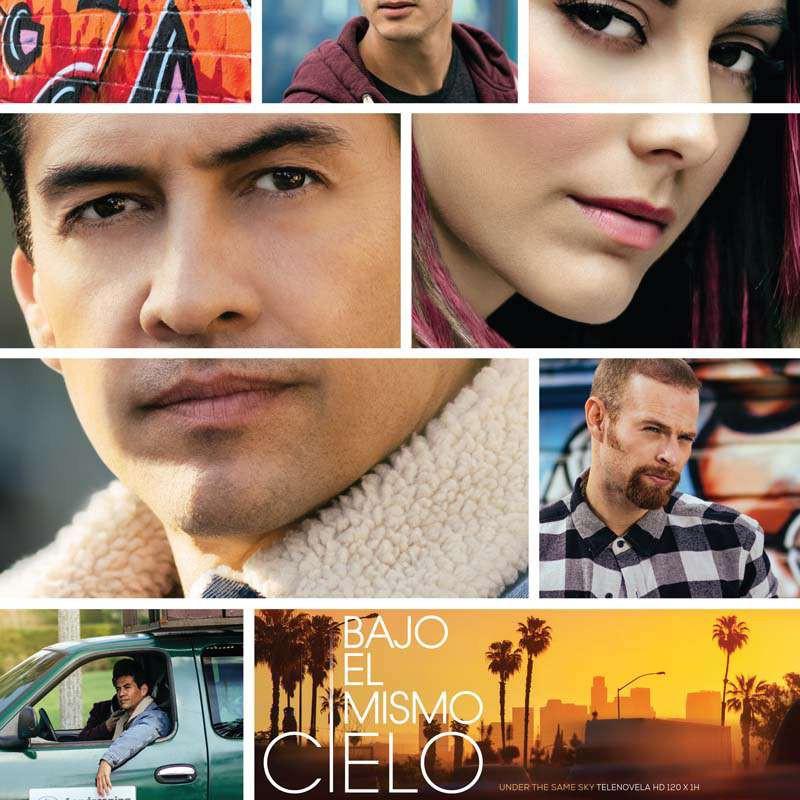 Compra la Telenovela: Bajo El Mismo Cielo completo en DVD.