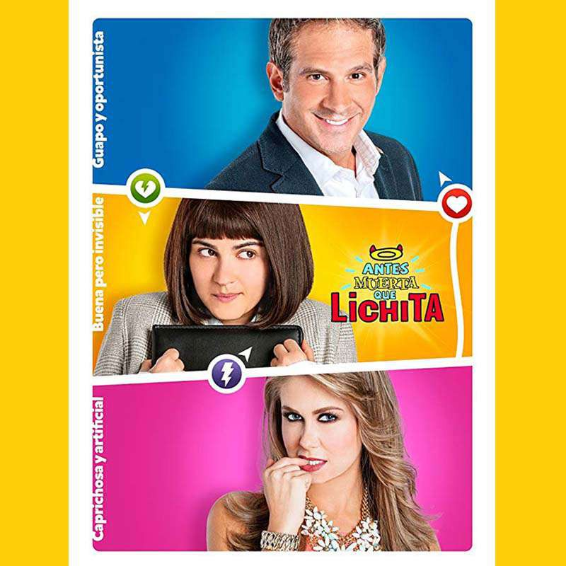 Compra la Telenovela: Antes muerta que Lichita completo en DVD.
