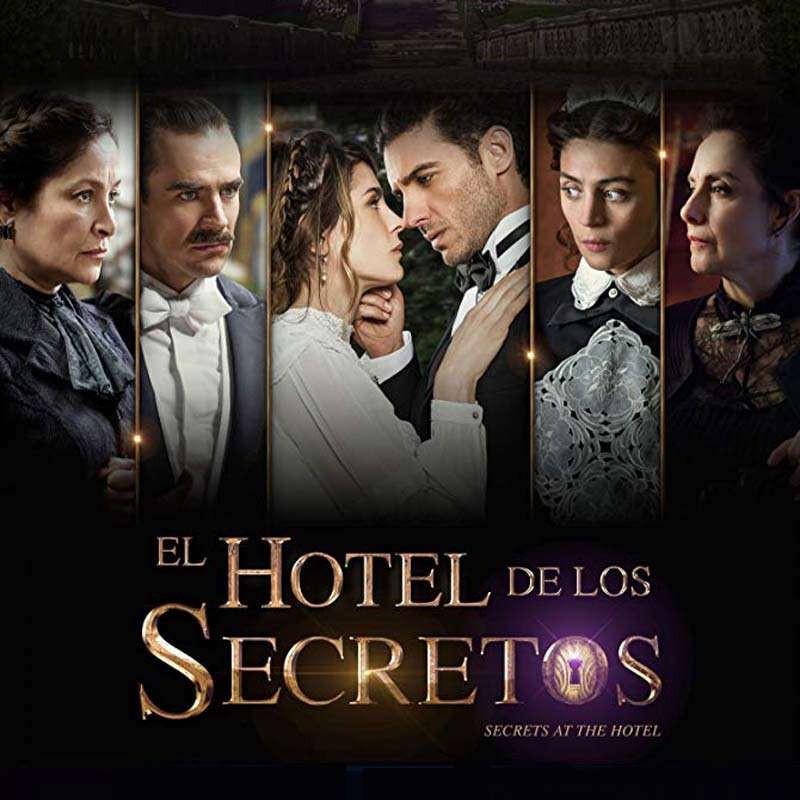 Compra la Telenovela: El hotel de los secretos completo en DVD.