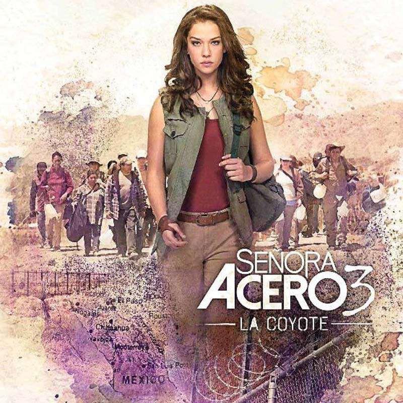 Compra la Serie: Senora Acero 3 La Coyote completo en DVD.