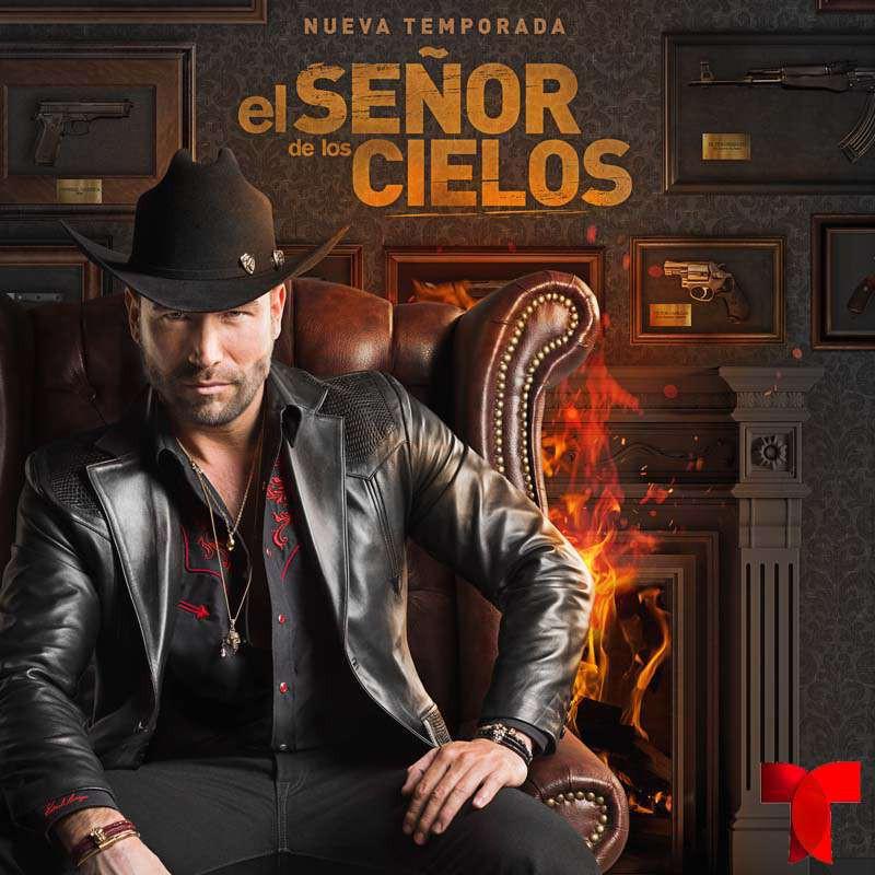 Compra la Telenovela: El Señor De Los Cielos 5 completo en DVD.