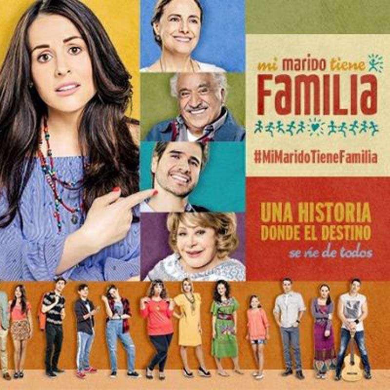Compra la Telenovela: Mi marido tiene familia completo en DVD.