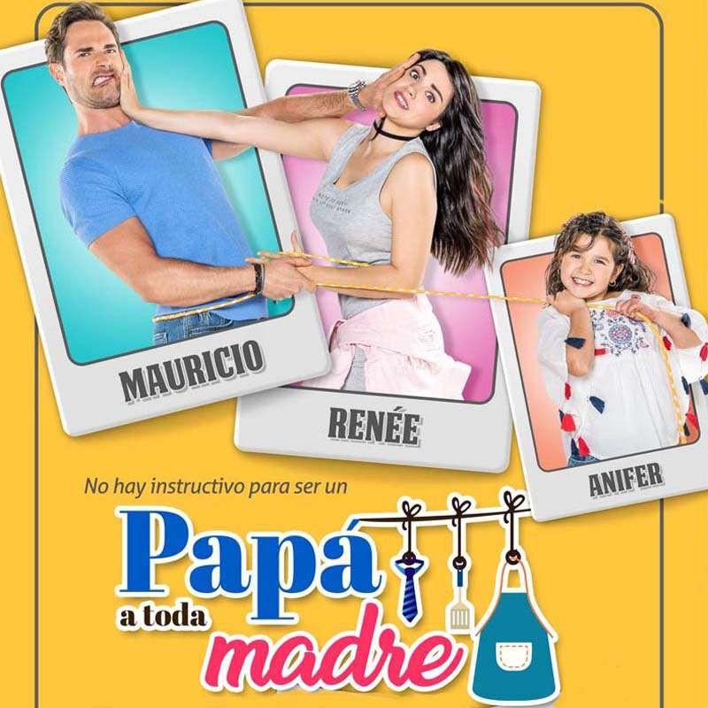 Compra la Telenovela: Papá a toda madre completo en DVD.