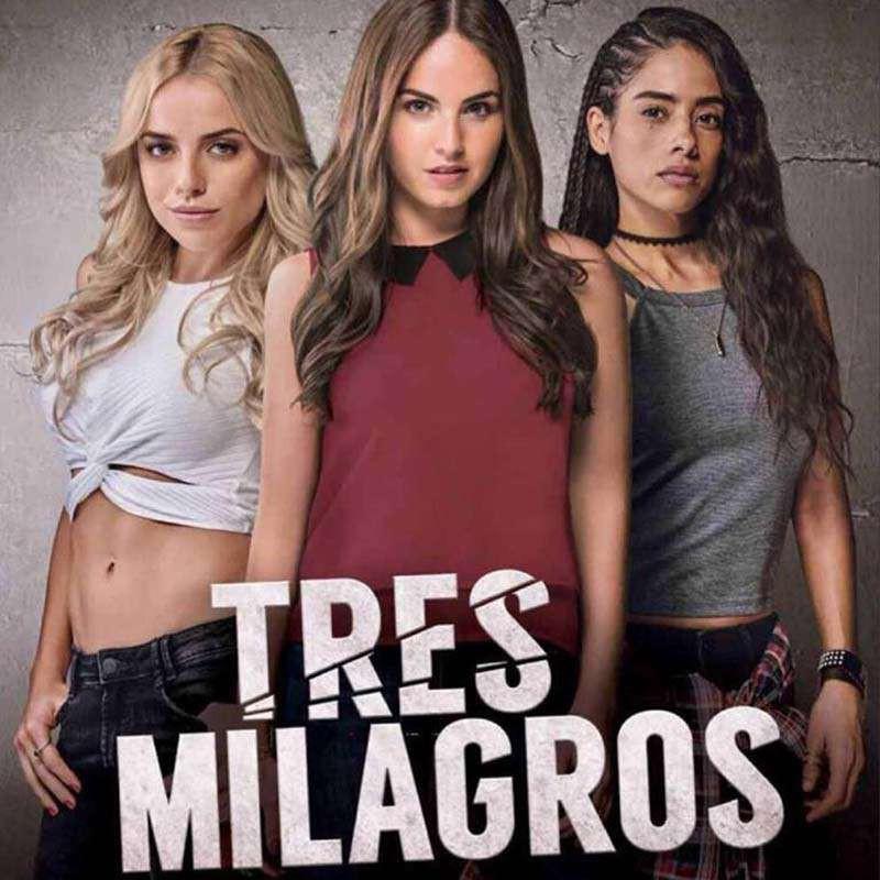Compra la Serie: Tres Milagros MX completo en DVD.
