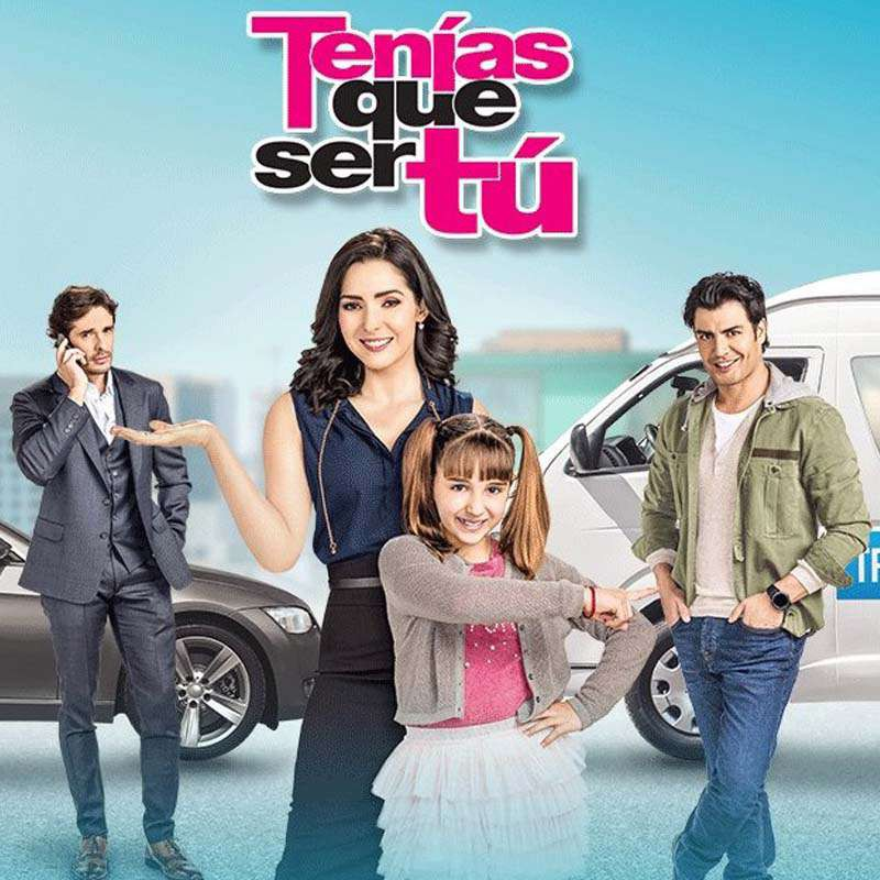 Compra la Telenovela: Tenías que ser tú completo en DVD.