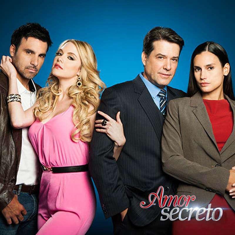 Compra la Telenovela: Amor secreto completo en DVD.
