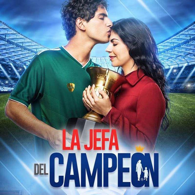 Compra la Telenovela: La jefa del campeón completo en DVD.