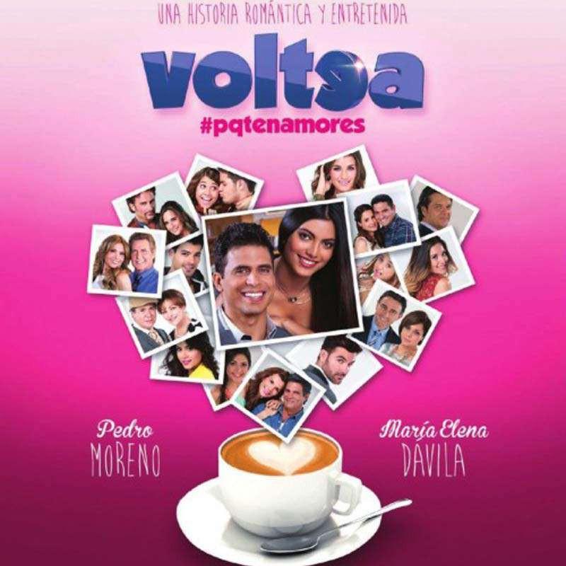 Compra la Telenovela: Voltea pa' que te enamores completo en DVD.