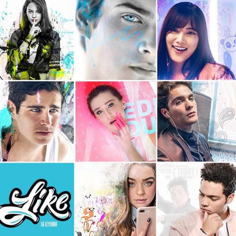 Compra la Telenovela: Like la Leyenda completo en DVD.