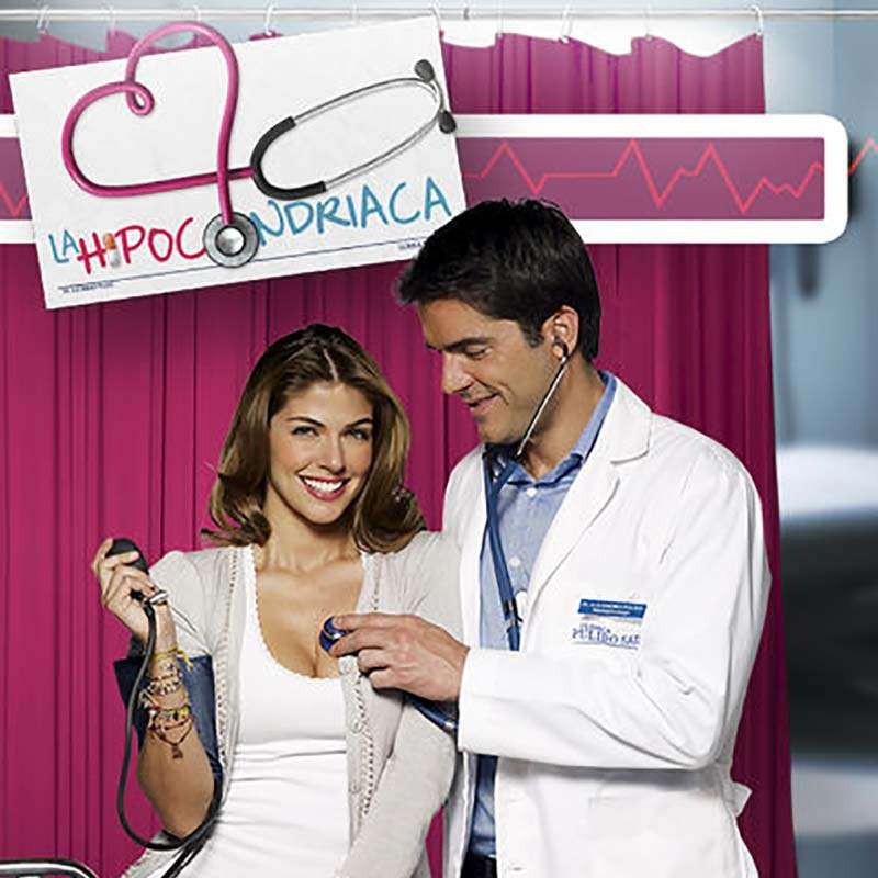Compra la Telenovela: La hipocondríaca completo en DVD.