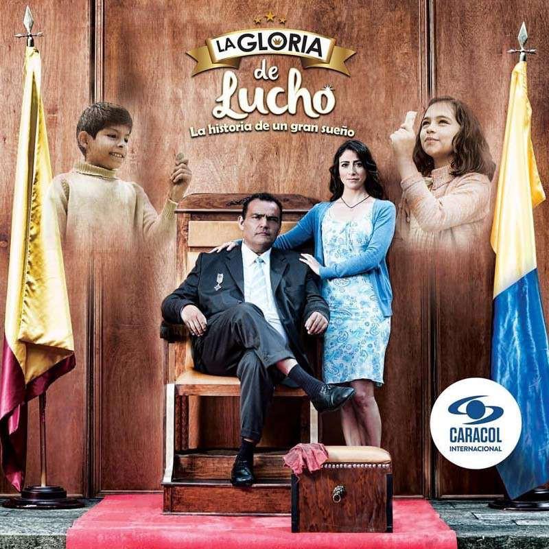 Compra la Telenovela: La gloria de Lucho completo en DVD.