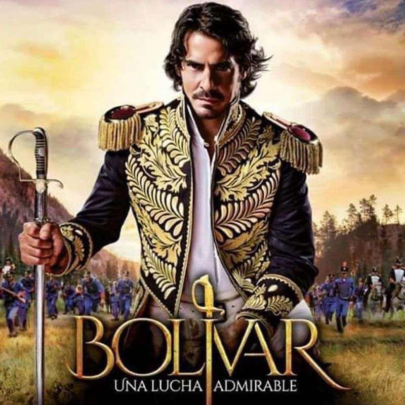Compra la Serie: Bolivar una lucha admirable completo en DVD.