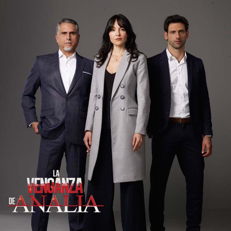 Comprar la Serie: La venganza de Analía completo en DVD.