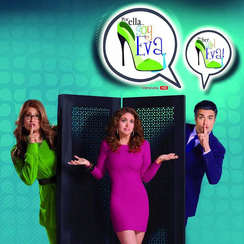 Comprar la Telenovela: Por ella soy Eva completo en DVD.