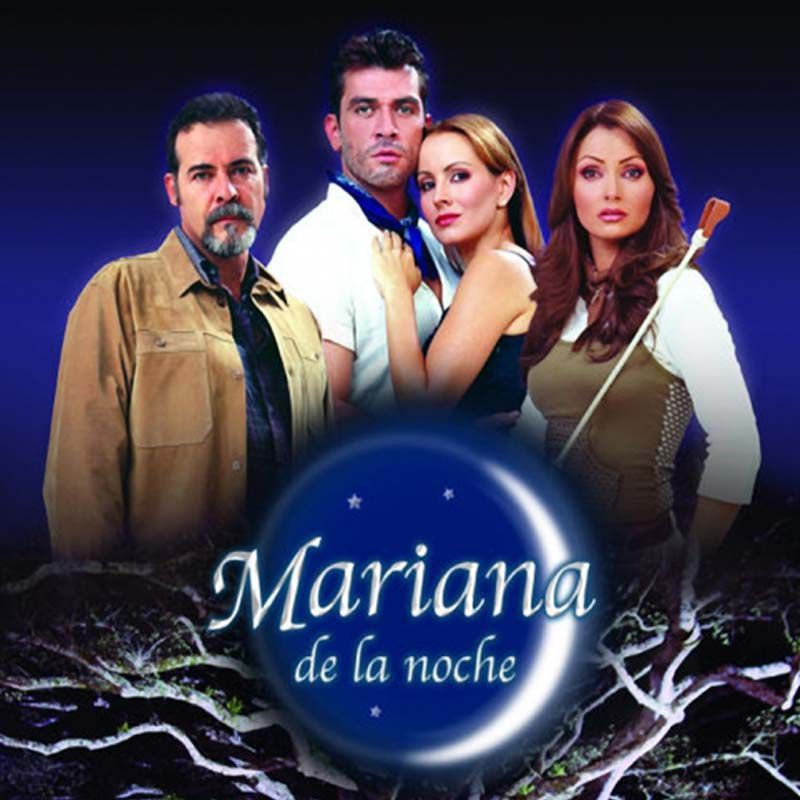 Comprar la Telenovela: Mariana de la noche completo en DVD.