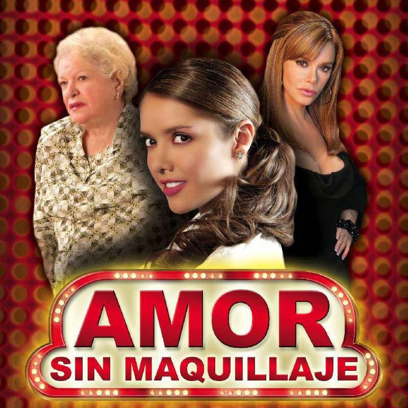 Comprar la Telenovela Amor sin maquilage completo en DVD.
