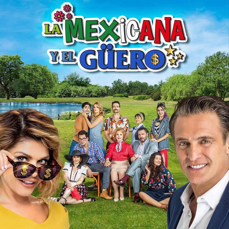 Comprar la Telenovela: La Mexicana y el Güero completo en DVD.