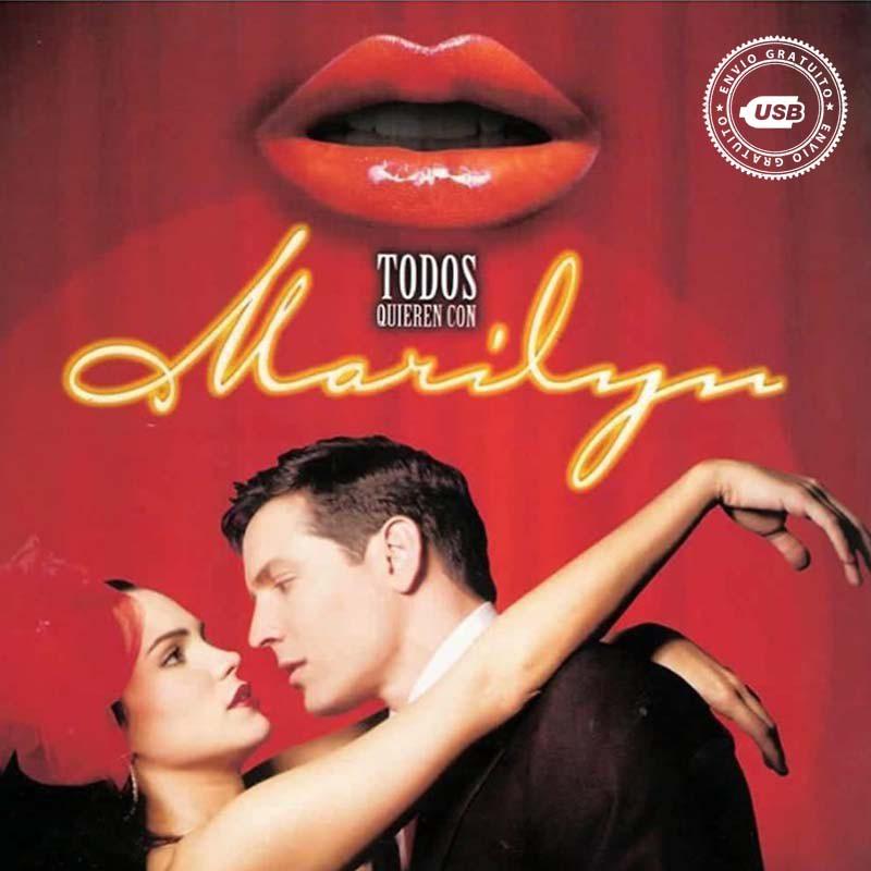Comprar la Telenovela: Todos quieren con Marilyn completo en USB y DVD.