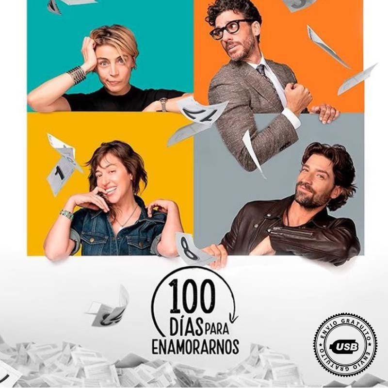 Comprar la Telenovela: 100 días para enamorarnos 2 completo en USB y DVD.