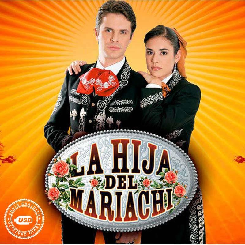 Compra la Telenovela: La hija del mariachi completo en  USB y DVD.
