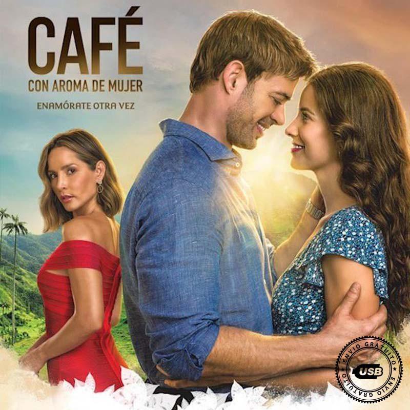 Comprar la Telenovela Café con Aroma de Mujer completo en USB Y DVD.