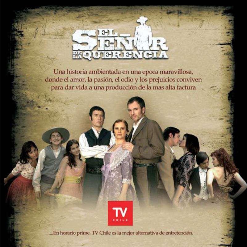 Compra la Telenovela: El señor de La Querencia completo en DVD.