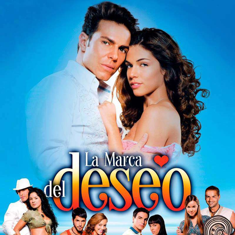 Compra la Telenovela: La marca de deseo completo en DVD.