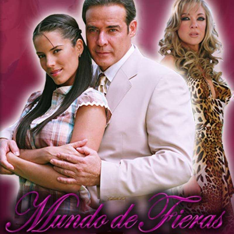 Comprar la Telenovela: Mundo de fieras completo en DVD.