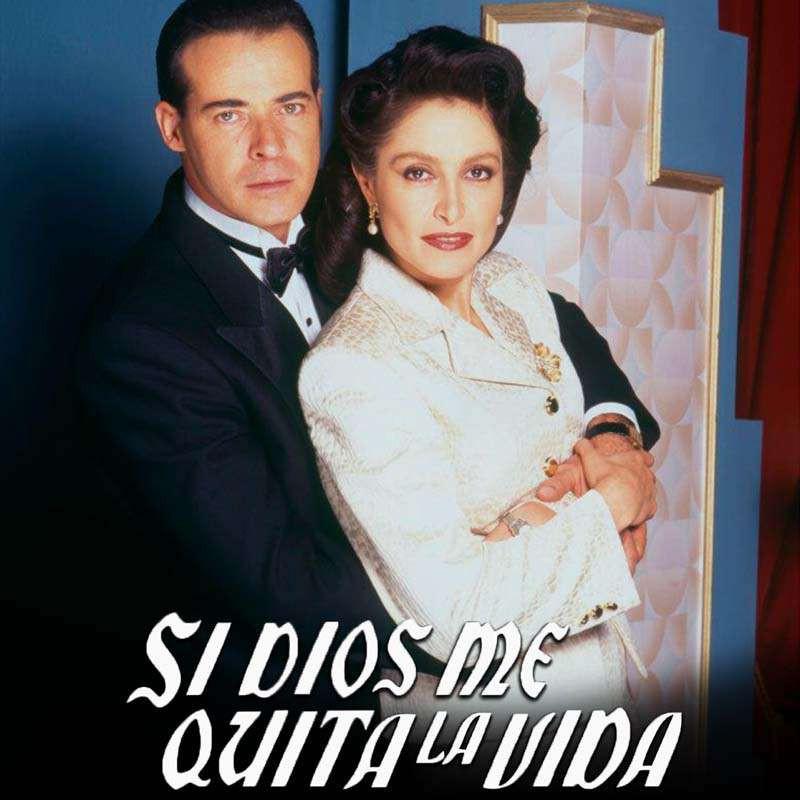 Compra la Telenovela: Si Dios me quita la vida completo en DVD.