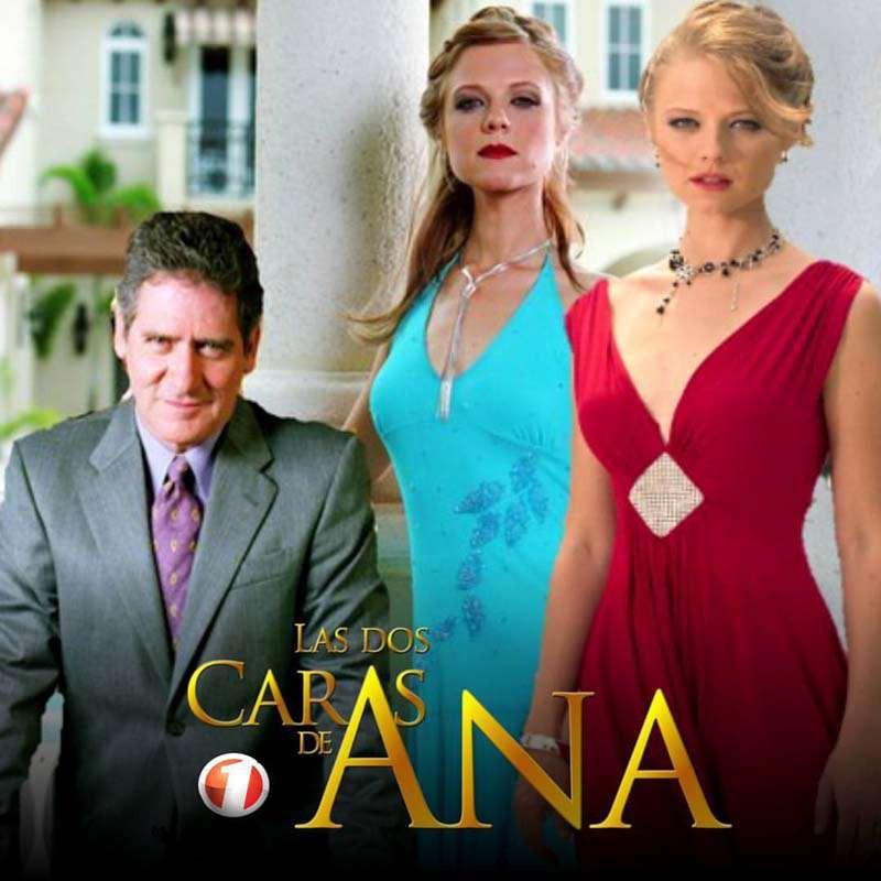 Comprar la Telenovela: Las dos caras de Ana completo en DVD.