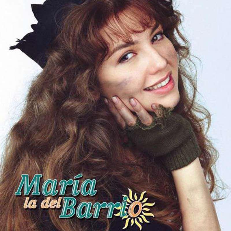 Comprar la Telenovela: María la del barrio completo en DVD.