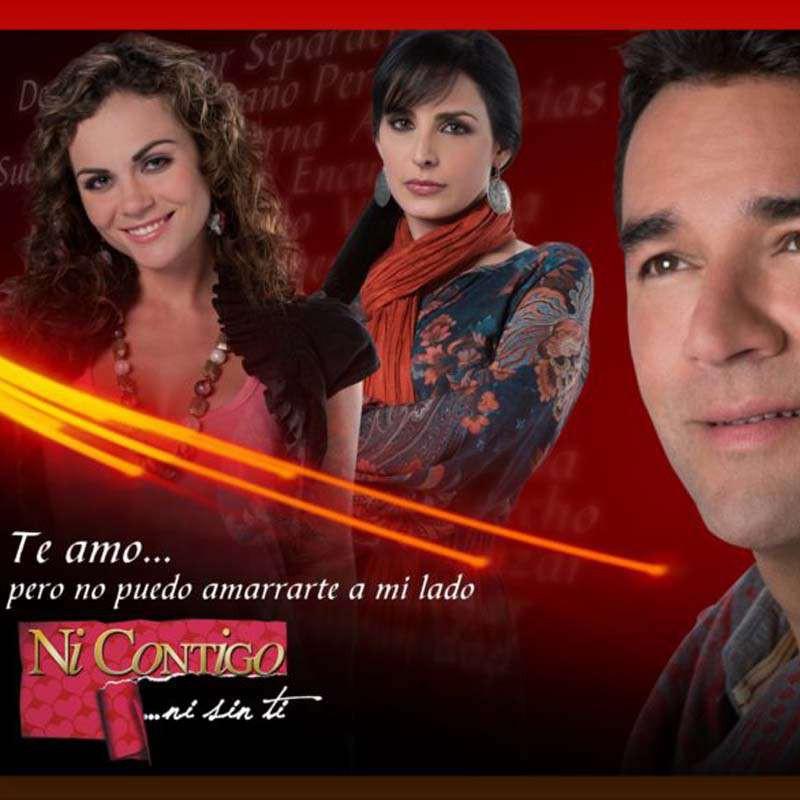 Comprar la Telenovela: Ni contigo ni sin ti completo en DVD.