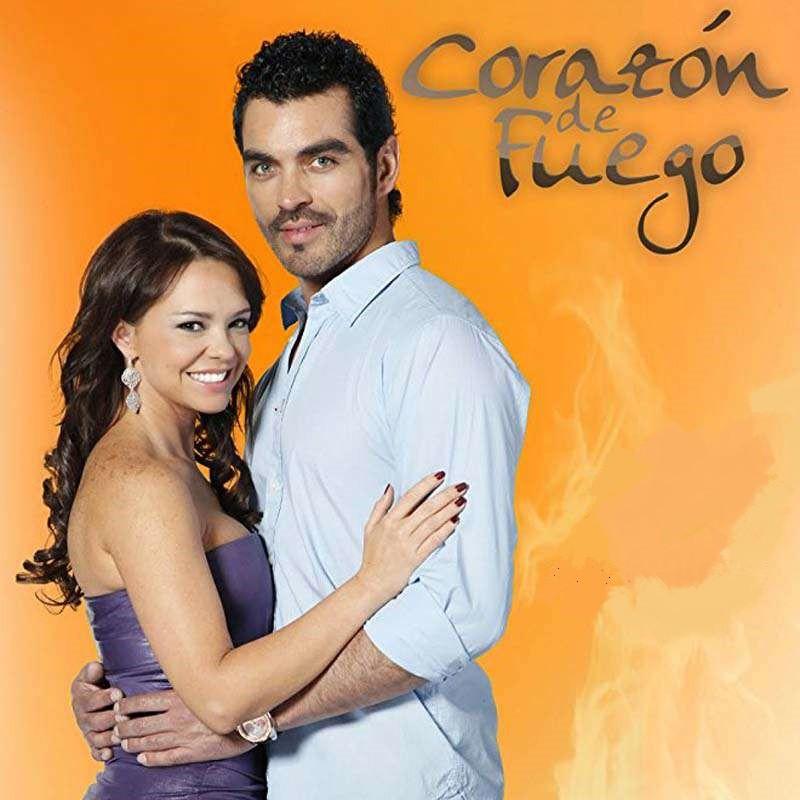 Comprar la Telenovela: Corazon de fuego completo en DVD.