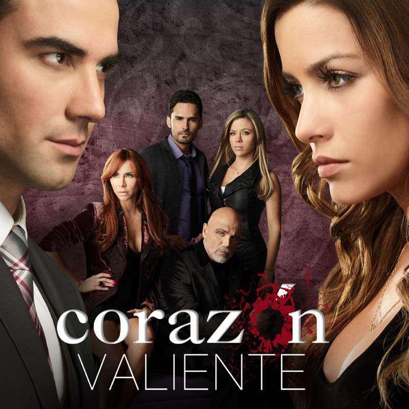 Compra la Telenovela: Corazón valiente completo en DVD.