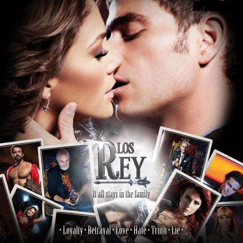 Compra la Telenovela: Los Rey completo en DVD.