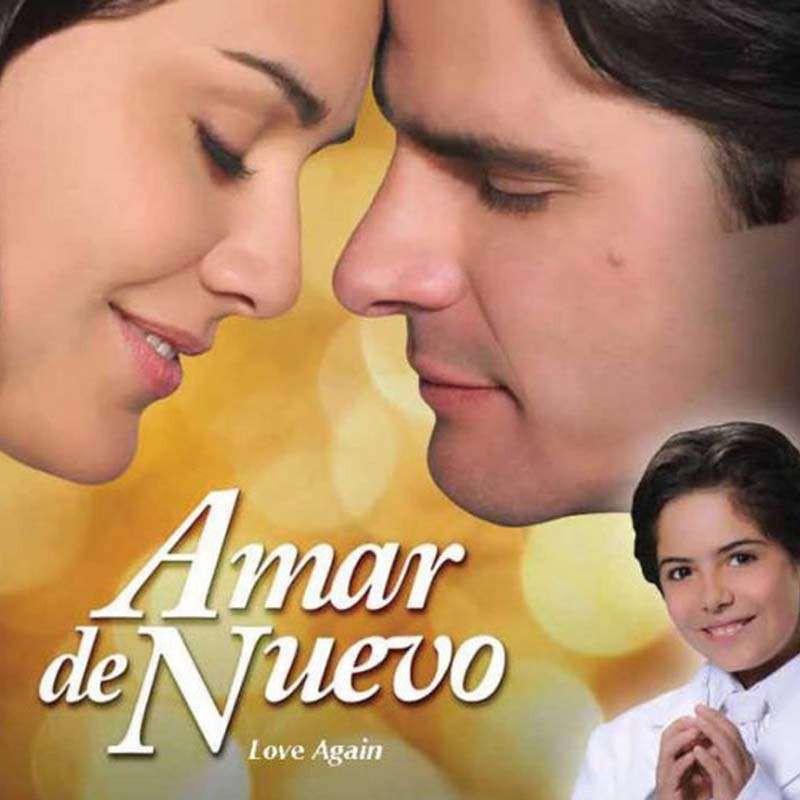 Compra la Telenovela: Amar de nuevo completo en DVD.