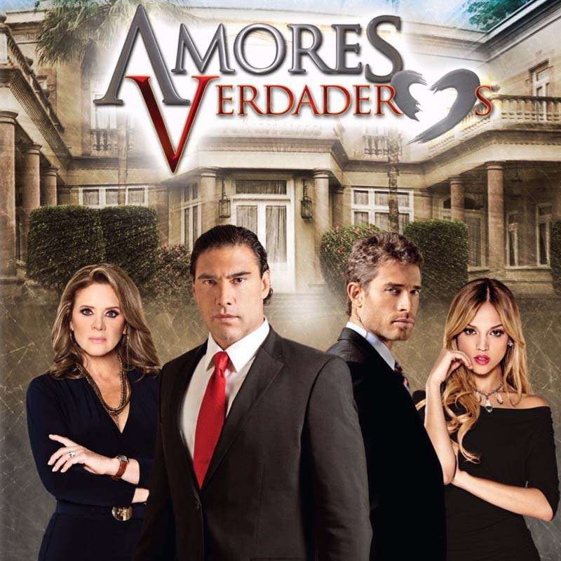 Compra la Telenovela: Amores verdaderos completo en DVD.