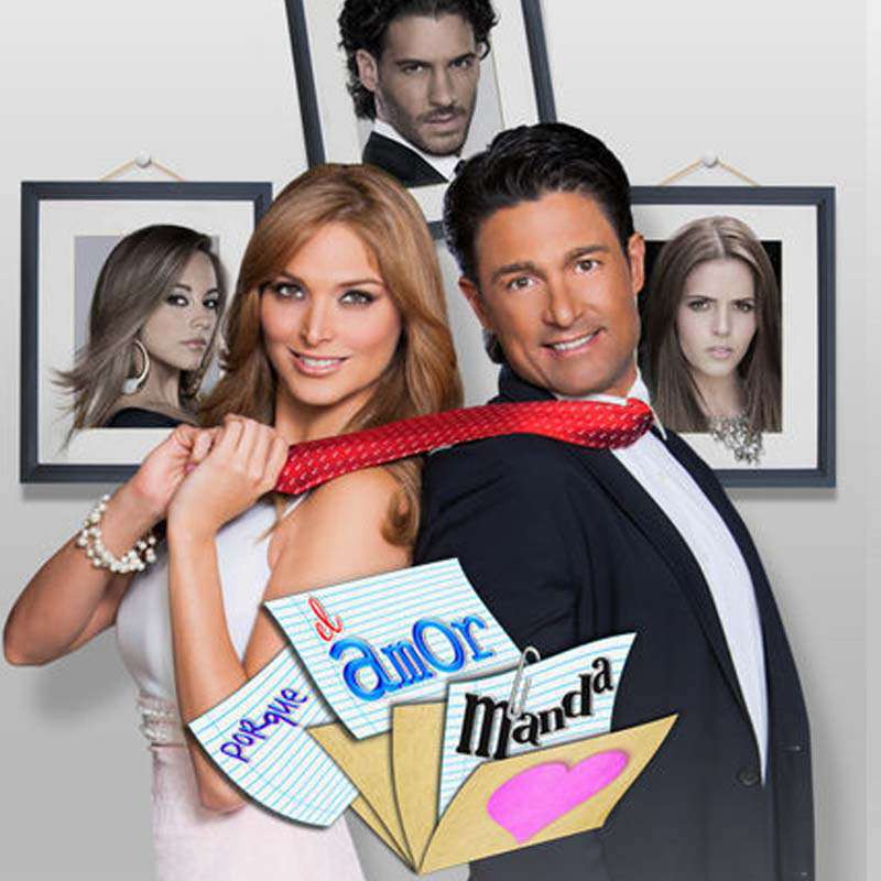 Compra la Telenovela: Porque el amor manda completo en DVD.