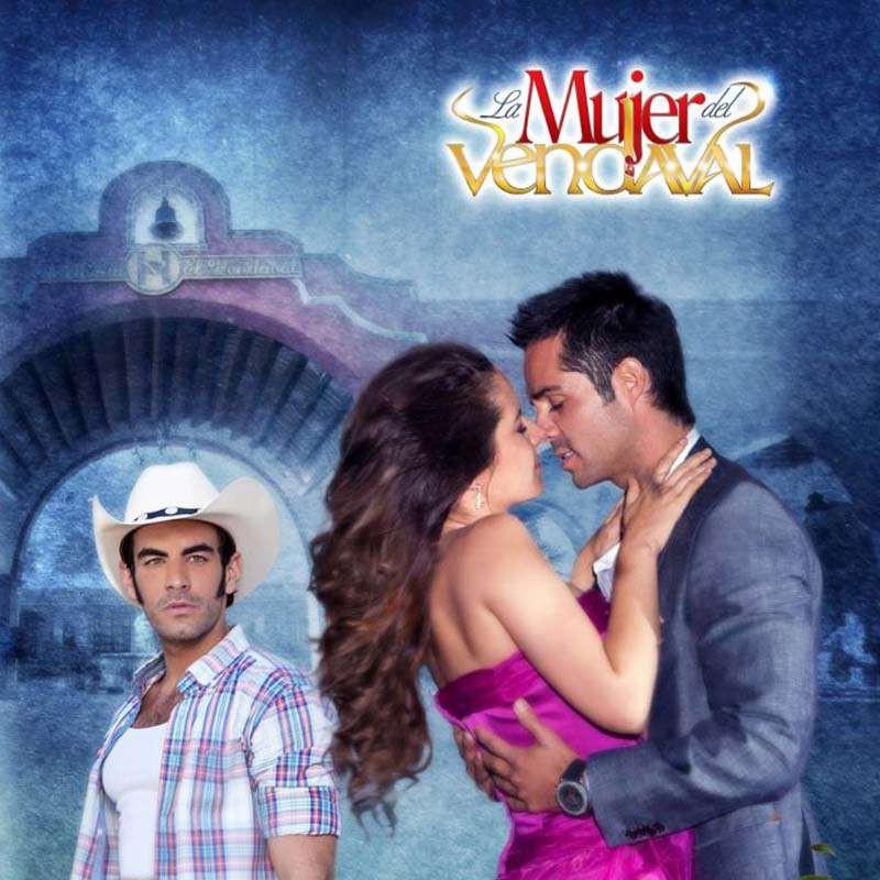 Compra la Telenovela: La mujer del Vendaval completo en DVD.
