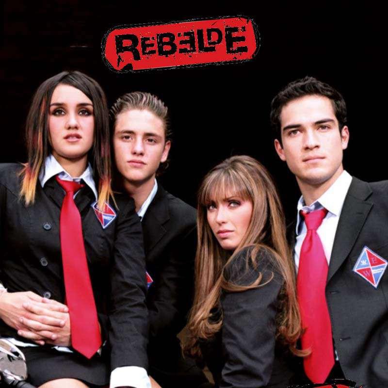 Compra la Telenovela: Rebelde 1ª temporada completo en DVD.